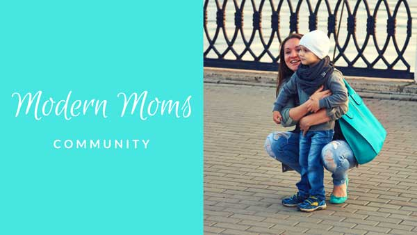 Modern Moms Community - A support Facebook community hosted by Amber Simmons of ambersimmons.com and Katie Clark of clarkscondensed.com