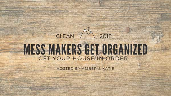Mess Makers Get Organized - A decluttering and organization Facebook community hosted by Amber Simmons of ambersimmons.com and Katie Clark of clarkscondensed.com.