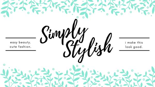 Simply Stylish - A fashion and beauty Facebook community hosted by Amber Simmons of ambersimmons.com, Katie Clark of clarkscondensed.com, and Hilary Erickson of pullingcurls.com.