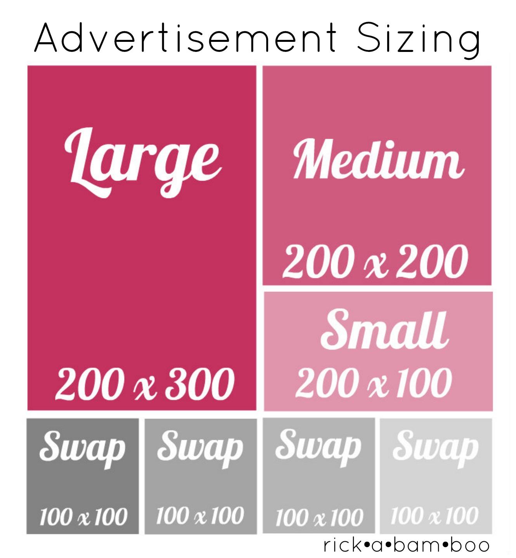 rickabamboo ad sizing chart