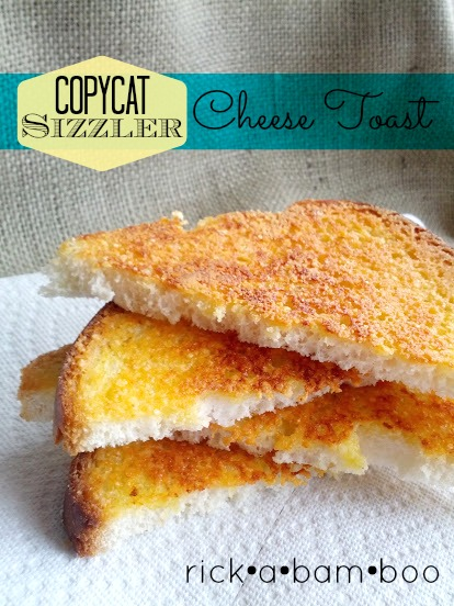 Copycat Sizzler Cheese Toast