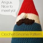 crochet gnome pattern | rick•a•bam•boo
