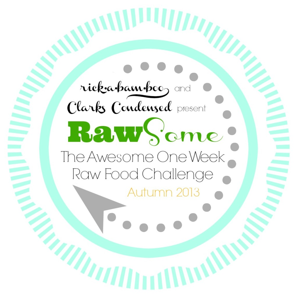 RawSome one week raw food challenge