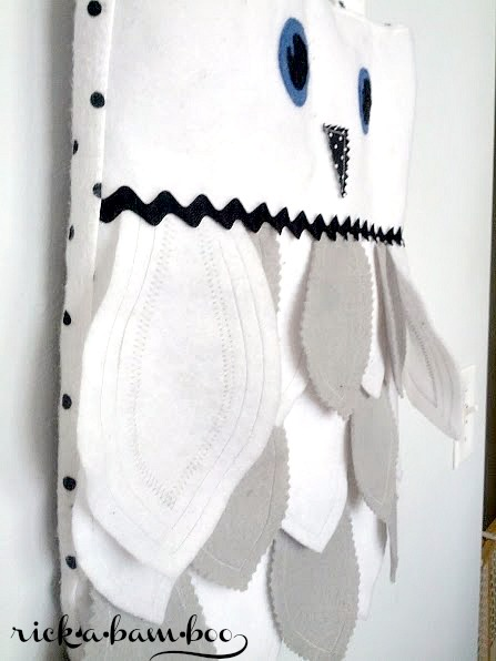 Hedwig Tote Bag | rickabamboo.com | #Hedwig #HarryPotter #Owl