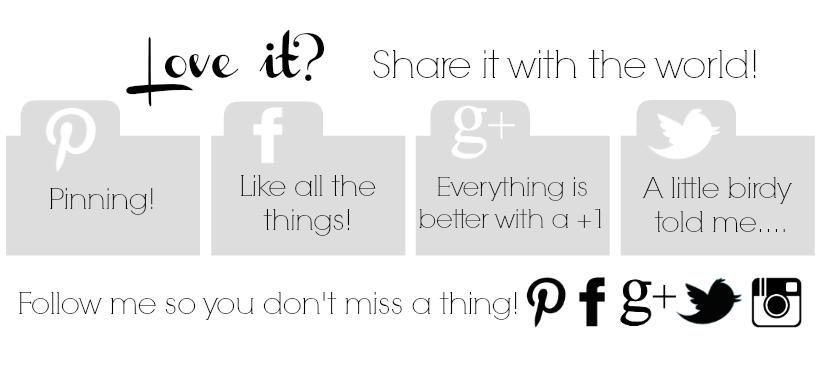 Creating Custom Social Media Share Buttons   rickabamboo.com   #design #blog #wordpress