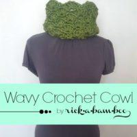 Wavy Crochet Cowl