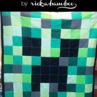 Minecraft Creeper Fleece Blanket