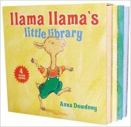 Llama llama library | rickabamboo.com | #easterbasket #toddler #giftideas