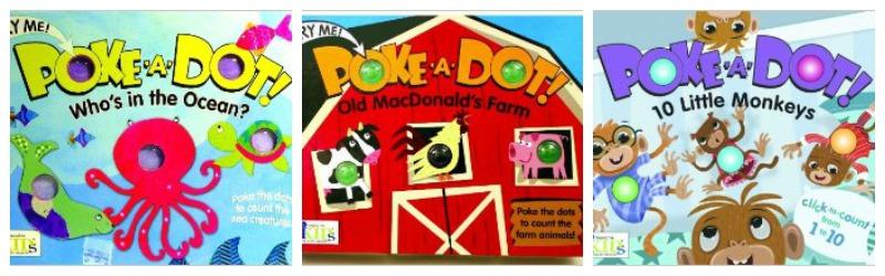 Poke A Dot Books | rickabamboo.com | #easterbasket #toddler #giftideas