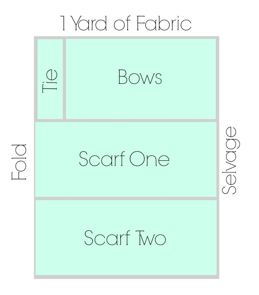 scarf layout rickabamboo