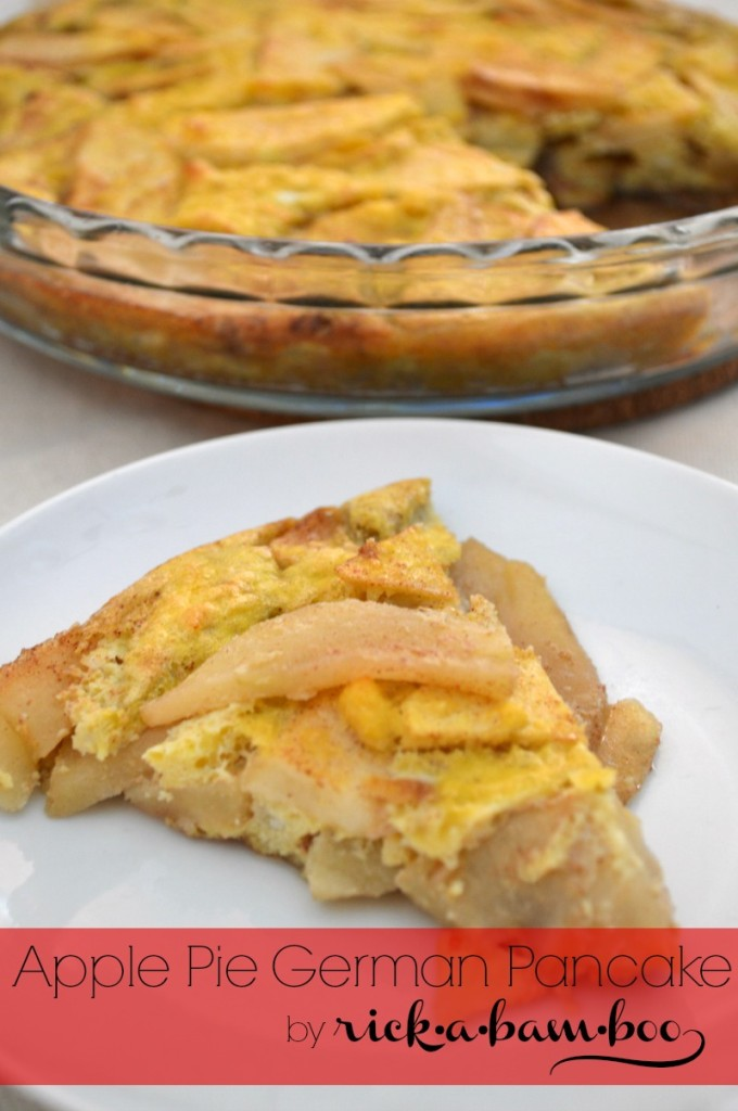 Apple Pie German Pancake