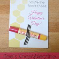 The Bee's Knees Valentine {Free Printable}