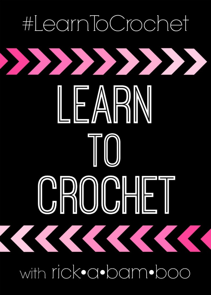 Crochet tutorials | rickabamboo.com | #learntocrochet #crochet