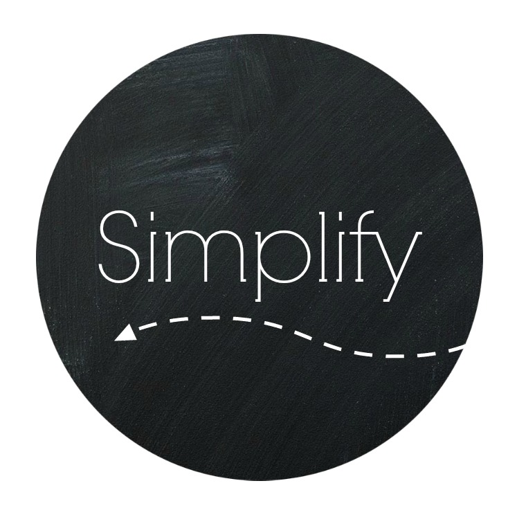 Word of 2014 - Simplify | rickabamboo.com