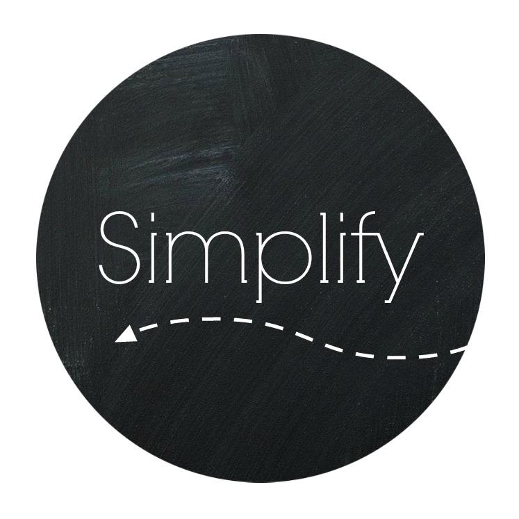 Word of 2014 - Simplify
