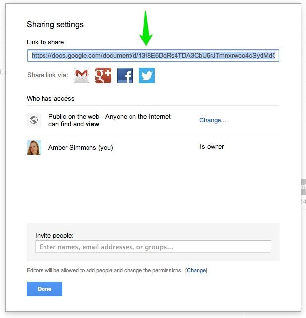 Google Drive Share Link | rickabamboo.com | #printables