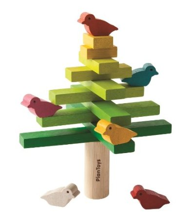 Bird Balancing Tree | rickabamboo.com | #toddler #easter