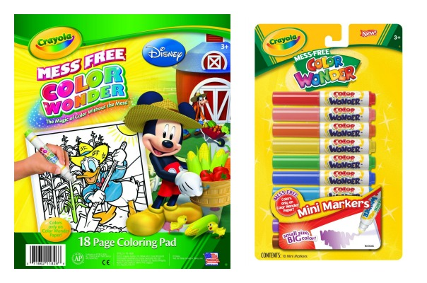 Crayola Color Wonder | rickabamboo.com | #toddler #easter