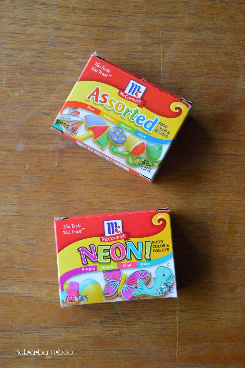 Food Colored Rainbow Rice | rickabamboo.com | #sensorybin #preschool