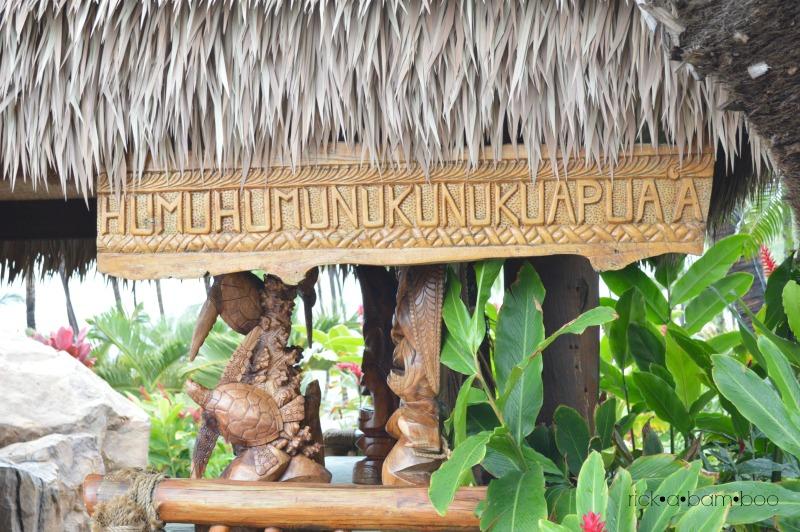 Humuhumunukunukuapua'a | rickabamboo.com | #maui #hawaii
