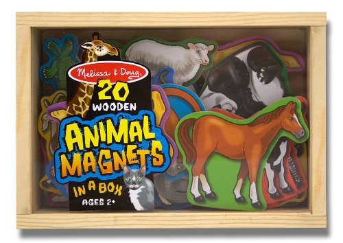 Melissa and Doug Animal Magnets | rickabamboo.com | #toddler #easter