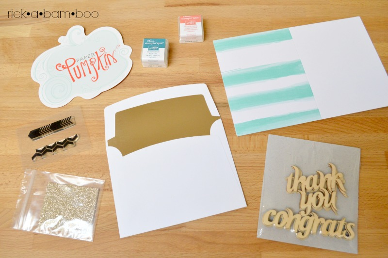 Stampin' Up Paper Pumpkin | rickabamboo.com | #march #DIY #kit
