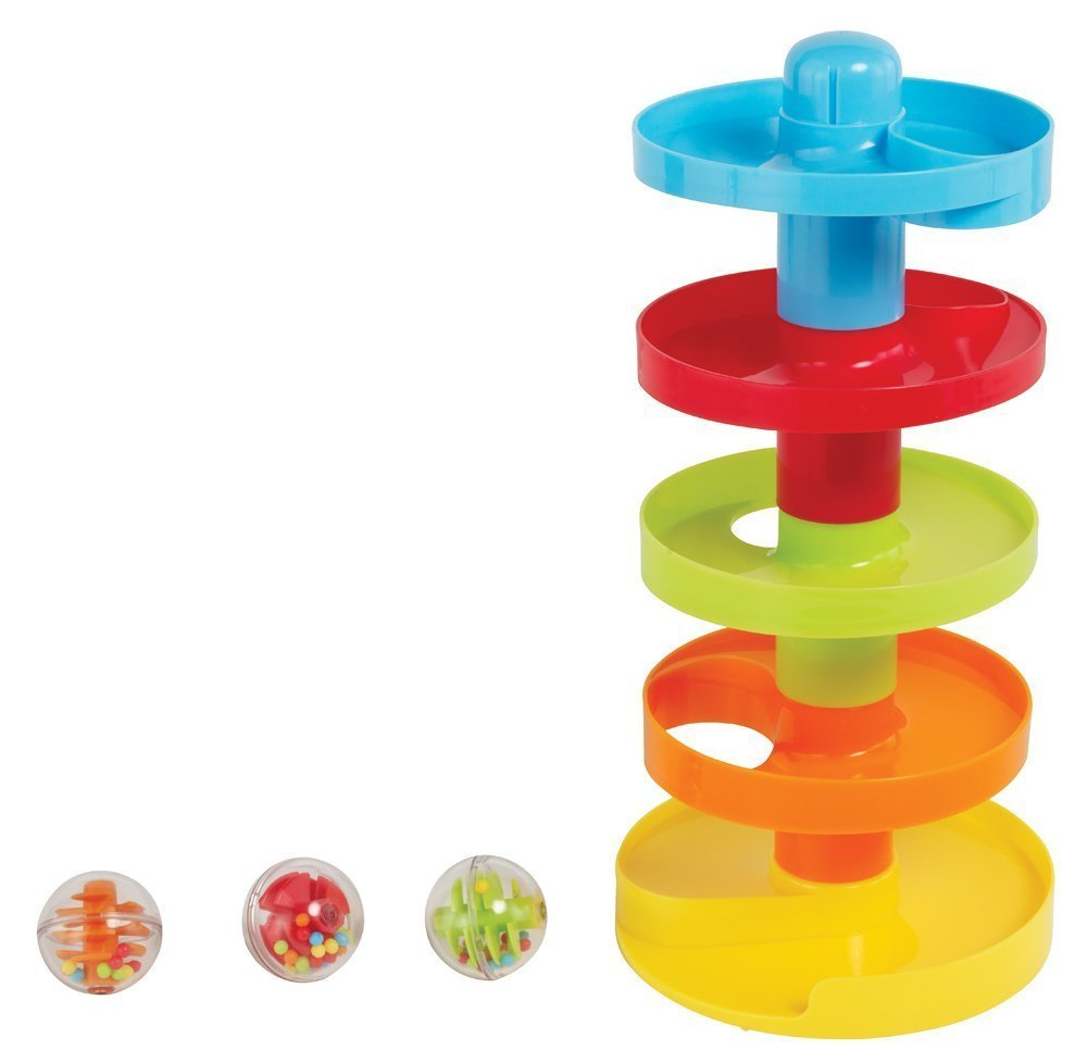 Earlyears Roll n Swirl Ball Ramp | rickabamboo.com | #toddler #easter #baby
