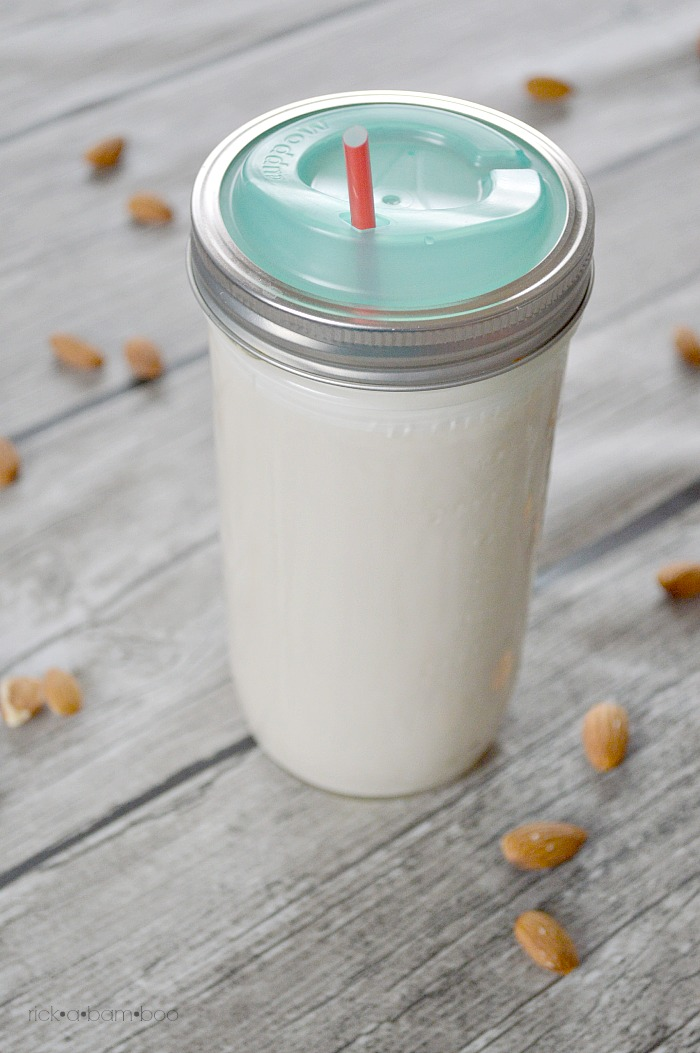 DIY Nut Milk Bag | rickabamboo.com | #homemade #easy