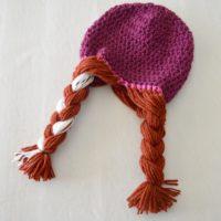 Anna & Elsa Crochet Hats