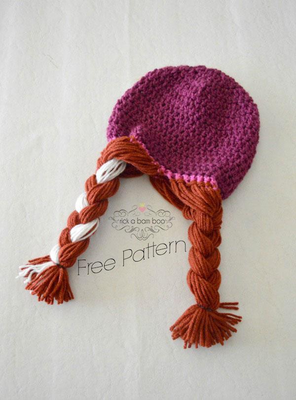 Anna Crochet Hat Free Pattern | rickabamboo.com