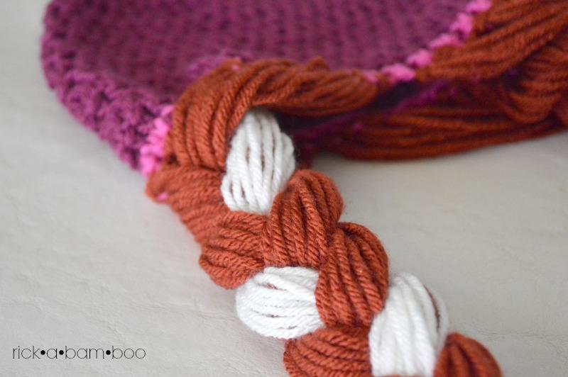 Crochet Pattern Anna Hat : Anna & Elsa Crochet Hats