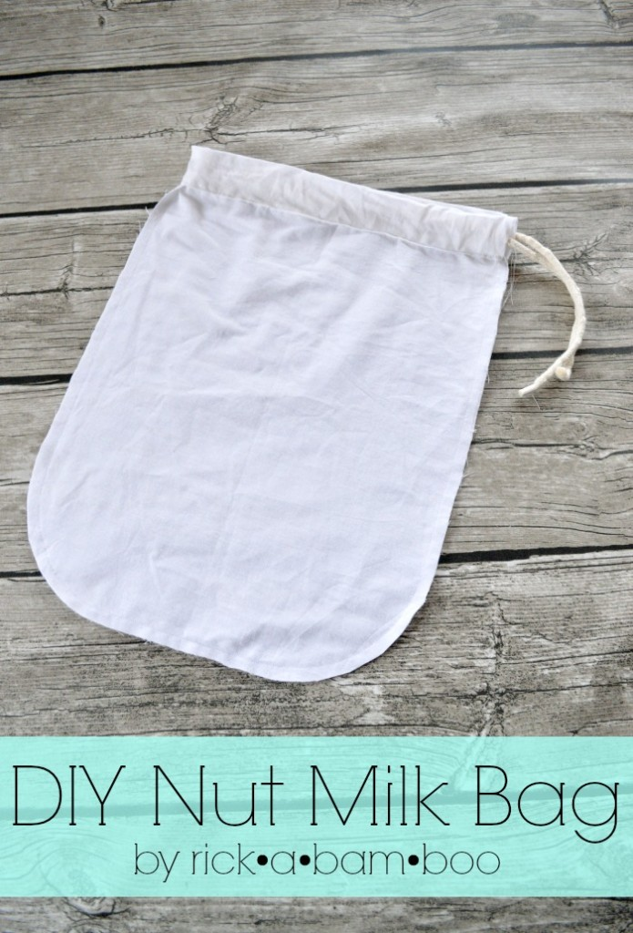 DIY Almond and Cashew Nut Milk Bag