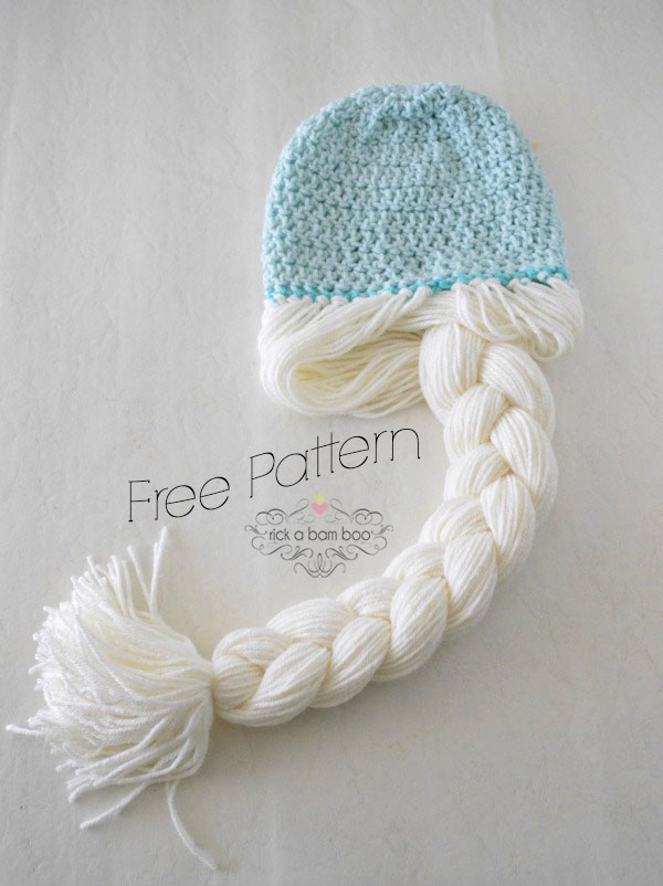 Free Crochet Pattern For Anna Hat : Anna & Elsa Crochet Hats