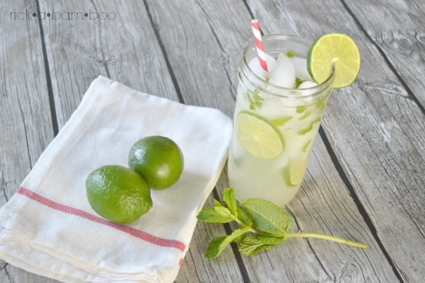 Mint Limeade | rickabamboo.com | #lime #cincodemayo #lemonade
