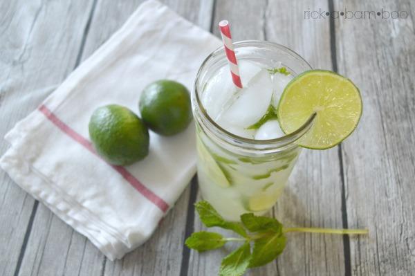 Mint Limeade   rickabamboo.com   #lime #cincodemayo #lemonade