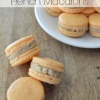 Pumpkin Spice Latte French Macarons Lorann Oils