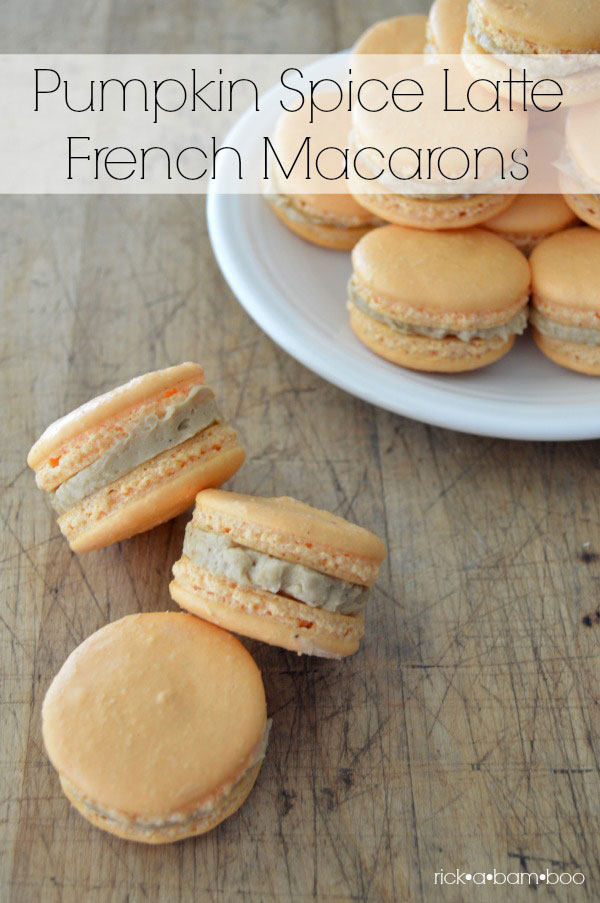 Pumpkin Spice Latte French Macarons Lorann Oils