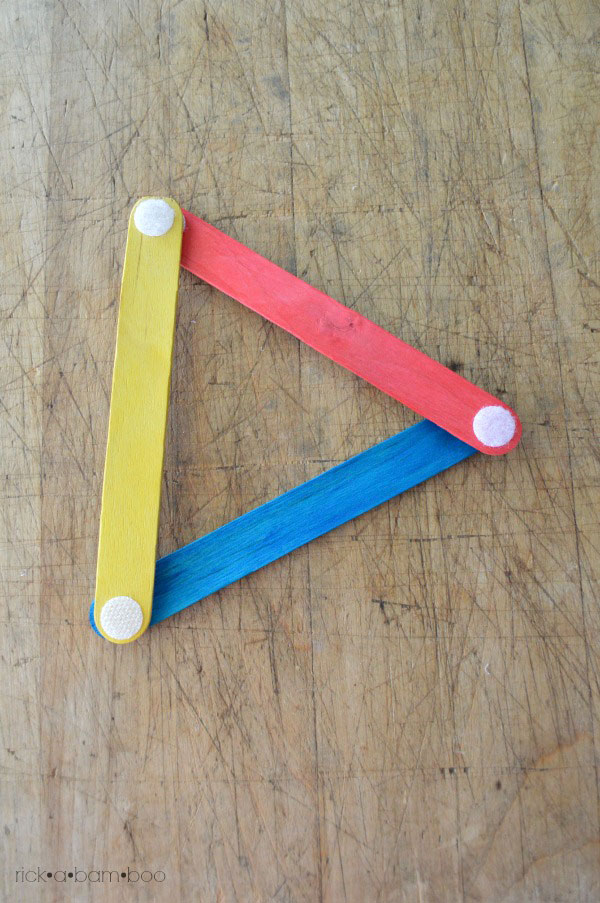 Velcro Sticks | rickabamboo.com | #busybag #preschool #totschool