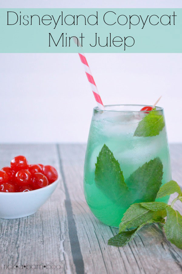 Disneyland Copycat Mint Julep Recipe