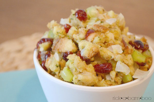 {Top Secret} Stuffing Recipe | rickabamboo.com | #thanksgiving #side #holiday