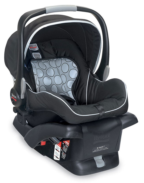 My Favorite Baby Products: Britax B Safe Carseat | rickabamboo.com