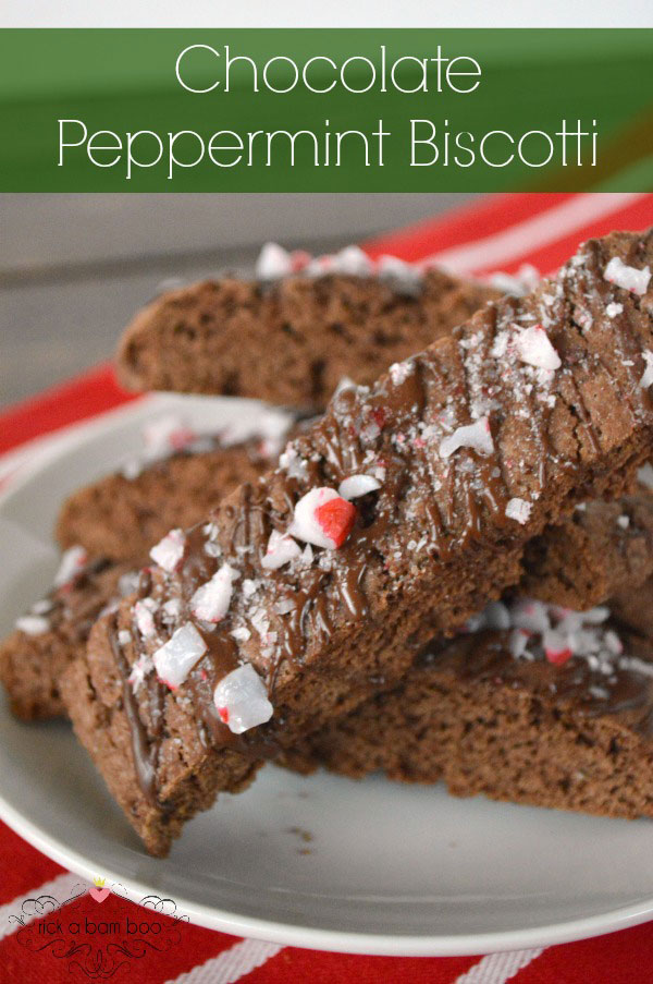 Chocolate Peppermint Biscotti Recipe