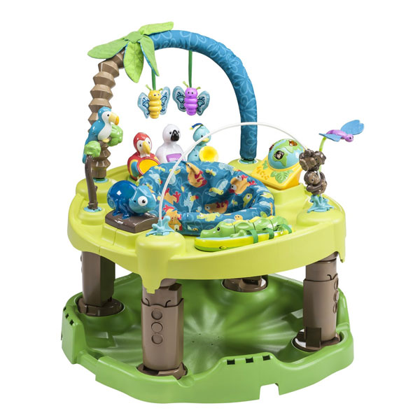 My Favorite Baby Products: Exersaucer | rickabamboo.com