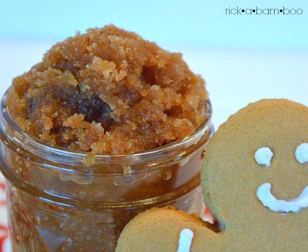 Gingerbread Sugar Scrub | rickabamboo.com