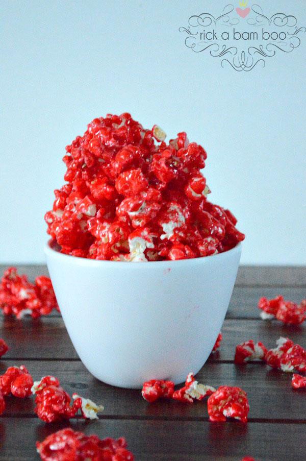 Especially for Your Sweet Tooth {12 Popcorn Recipes} eBook - Hot Cinnamon | rickabamboo.com