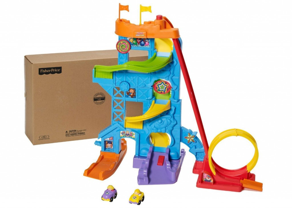 Toddler Boy Holiday Gift Guide   rickabamboo.com   #car #littlepeople #track