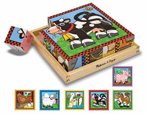 Toddler Boy Holiday Gift Guide | rickabamboo.com | #melissaanddoug #puzzle #block
