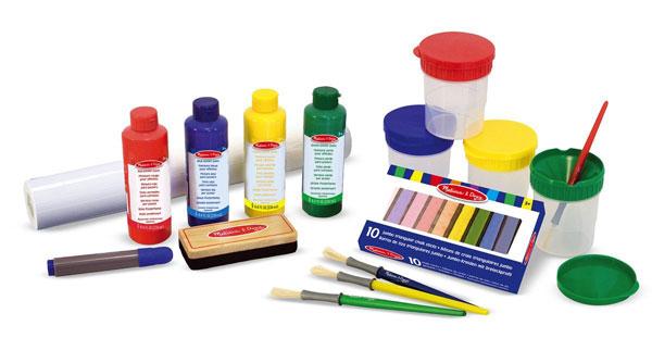Toddler Boy Holiday Gift Guide   rickabamboo.com   #melissaanddoug #art #paint