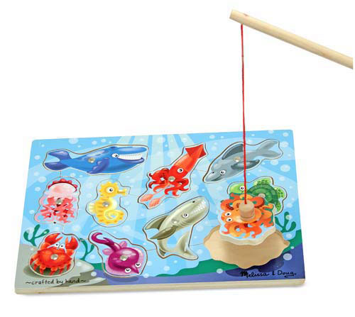 Toddler Boy Holiday Gift Guide   rickabamboo.com   #melissaanddoug #puzzle #block