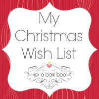 My Christmas Wish List